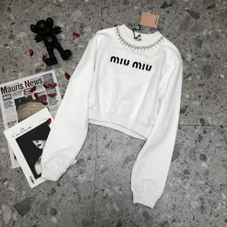 ミュウミュウ(miumiu)のミュウミュウ スエット トレーナー(トレーナー/スウェット)