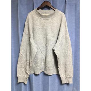 コモリ(COMOLI)のフィルメランジェ ハイネックビッグスウェット 日本製(Tシャツ/カットソー(七分/長袖))