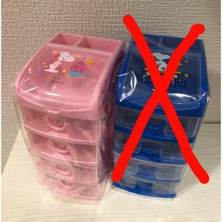 スヌーピー(SNOOPY)の★新品未使用★ スヌーピー  チェスト ケース 収納ボックス(ケース/ボックス)
