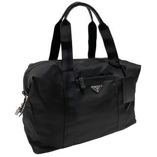 プラダ(PRADA)の新品プラダ ナイロンボストンバッグ 黒 2VC796 PRADA(ボストンバッグ)