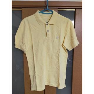 バナナリパブリック(Banana Republic)の【売り尽くし】BANANA REPUBLIC 黄色 ポロシャツ 美品 爽やか(ポロシャツ)