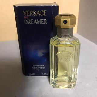ヴェルサーチ(VERSACE)の香水 オードトワレ ヴェルサーチ TheDreamer 米国購入 数プッシュのみ(ユニセックス)