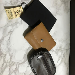 ムジルシリョウヒン(MUJI (無印良品))の無印 ミニウォレット 新品未使用 3点セット 24時間以内発送(折り財布)