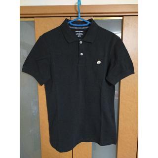 バナナリパブリック(Banana Republic)の【売り尽くし】BANANA REPUBLIC ワンポイント ポロシャツ 美品 黒(ポロシャツ)