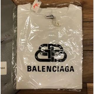 バレンシアガ(Balenciaga)のバレンシアガ Tシャツ トップス 白 BB ロゴ 2020 今期(Tシャツ(半袖/袖なし))