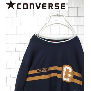 コンバース(CONVERSE)の【CONVERSE コンバース】ビッグロゴ 長袖Tシャツ(Tシャツ/カットソー(七分/長袖))