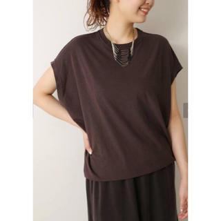 プラージュ(Plage)のリヨセルハイゲージTシャツ(Tシャツ(半袖/袖なし))