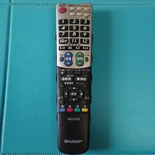 アクオス(AQUOS)のSHARP AQUOS アクオス テレビリモコン GB047WJSA(テレビ)