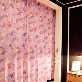 レディー(Rady)のRady フラワー 2級 遮光 カーテン 178(カーテン)