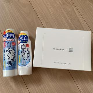 noevir - 【未使用・新品】薬用美白化粧水・乳液とコットンの3点セット