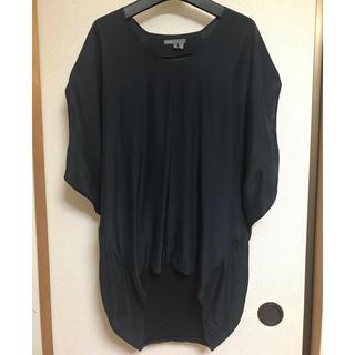 ビンス(Vince)のvince.シルク トップス Tシャツ チュニック カットソー(Tシャツ(半袖/袖なし))