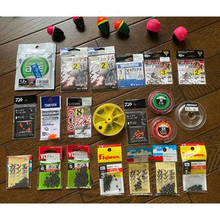 ダイワ(DAIWA)のウキ、針、ガン玉等小物類 バラ売り可能(釣り糸/ライン)