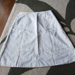 シビラ(Sybilla)のSybilla 膝丈のスカート 白(ひざ丈スカート)