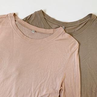 エディットフォールル(EDIT.FOR LULU)のbaserange bamboo tee ベースレンジ バンブーTシャツ(Tシャツ(長袖/七分))