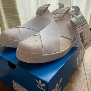 アディダス(adidas)の【adidas】スーパースタースリッポン(スニーカー)