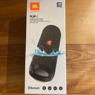 フリップ(Flip)のJBL FLIP4 BLACK Bluetooth スピーカー(スピーカー)