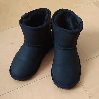 アンパサンド(ampersand)のボアブーツ 黒 20cmアンパサンド(ブーツ)