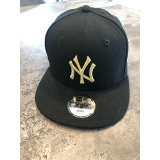 ニューエラー(NEW ERA)のニューエラ キャップ ゴールド(帽子)