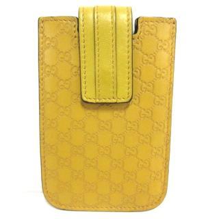 グッチ(Gucci)のグッチ 携帯電話ケース美品  240188 レザー(モバイルケース/カバー)