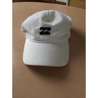 ビラボン(billabong)の美品 Billabong 帽子 白 キャップ(キャップ)