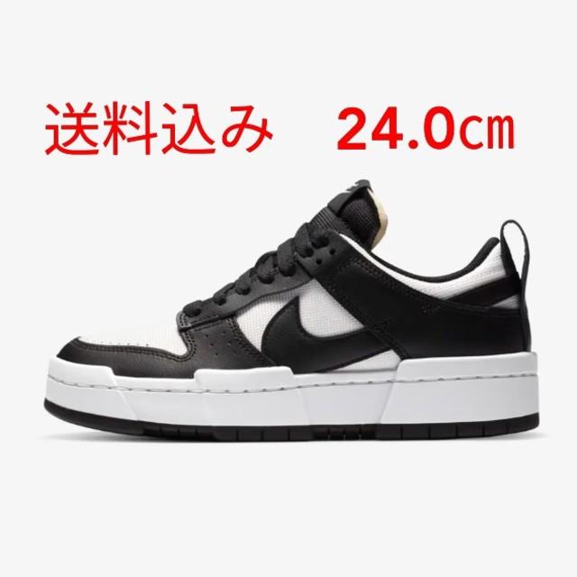 NIKE(ナイキ)のUS5 24.0cm NIKE WMNS DUNK LOW DISRUPT レディースの靴/シューズ(スニーカー)の商品写真