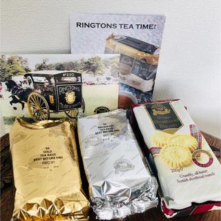リントンズ 紅茶2種 ショートブレッド(茶)