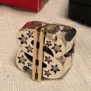 テンダーロイン(TENDERLOIN)の美品 19号 テンダーロイン T-$ RING ダラー リング ダイヤ 8k(リング(指輪))
