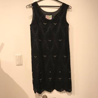 グレースコンチネンタル(GRACE CONTINENTAL)のランゲージ ワンピース ドレス(ミニワンピース)