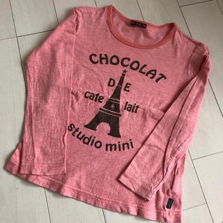 スタジオミニ(STUDIO MINI)のStudio mini スタジオミニ ロンT 130 (Tシャツ/カットソー)
