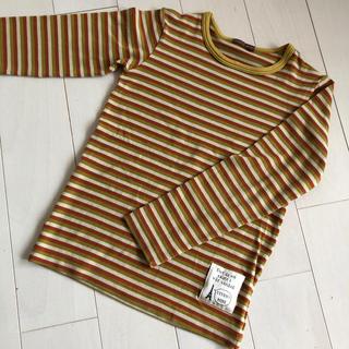 スタジオミニ(STUDIO MINI)のstudio mini スタジオミニ ボーダーロンT 130(Tシャツ/カットソー)