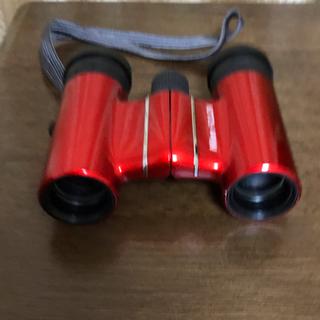 ニコン(Nikon)のNikon ACULON T01 10×21 レッド 双眼鏡(その他)