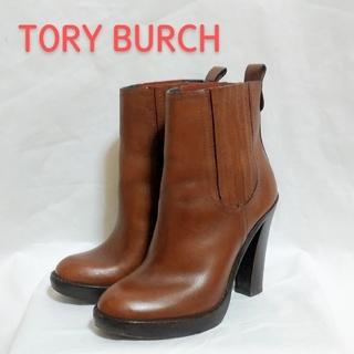 トリーバーチ(Tory Burch)の【TORY BURCH】トリバーチ ヒールブーツ(ブーティ)