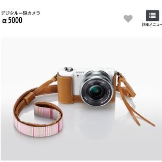 ソニー(SONY)のSONY ミラーレスカメラ α5000  (ミラーレス一眼)