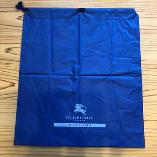 バーバリーブルーレーベル(BURBERRY BLUE LABEL)の【バーバリーブルーレーベル】ナイロン製 ショップ袋(ショップ袋)