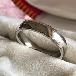 指輪✨リング✨ステンレス製✨シルバー✨甲丸リング✨レディース(リング(指輪))