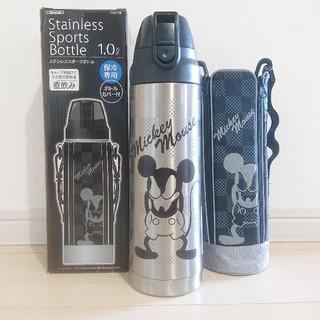 ミッキーマウス(ミッキーマウス)のミッキー 新品 ミッキー ステンレスダイレクトボトル 水筒 1.0L(水筒)