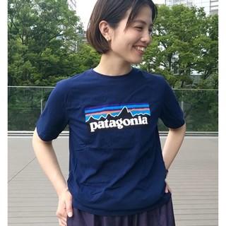パタゴニア(patagonia)のBEAMS BOY Patagonia / 別注  ボーイズ ロゴ Tシャツ(Tシャツ(半袖/袖なし))