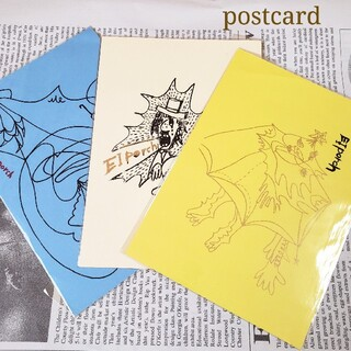 絵はがき はがき ポストカード 3枚セット ★(印刷物)