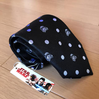 THE SUIT COMPANY - スターウォーズ スーツカンパニー コラボ ドット柄ネクタイ 新品 ブラック