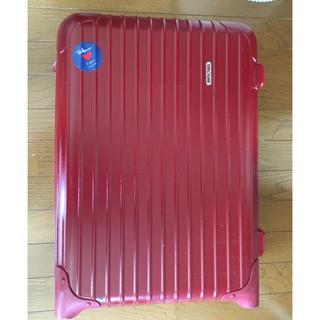 期間限定値下げ リモワ サルサ レッド 機内持ち込み スーツケース(旅行用品)