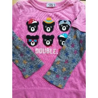 ダブルビー(DOUBLE.B)のダブルB長袖ロンTシャツ100(その他)