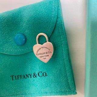ティファニー(Tiffany & Co.)の美品 ティファニー シルバー 925 ハートチャーム 8g(チャーム)
