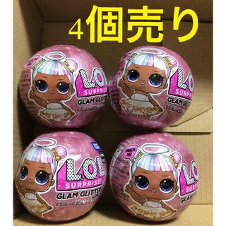タカラトミー(Takara Tomy)の【4個】 LOLサプライズ! グラム グリッター(ぬいぐるみ/人形)