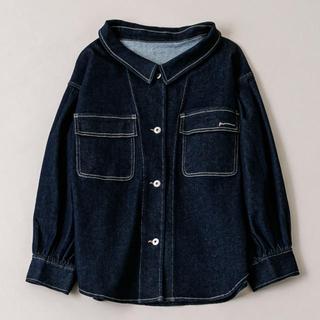 ミスティック(mystic)のmline ビッグシャツジャケット mystic ミスティック フーズフーチコ(Gジャン/デニムジャケット)