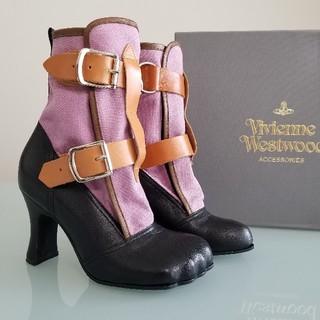 ヴィヴィアンウエストウッド(Vivienne Westwood)の【レア】新品Vivienne Westwood ヴィヴィアン ボンテージブーツ(ブーツ)