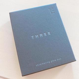 スリー(THREE)の❁ THREE シマリンググローデュオ 02 ❁(コントロールカラー)