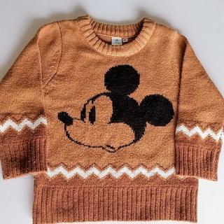 ディズニー(Disney)のディズニーリゾート ミッキー ニット 90cm(ニット)