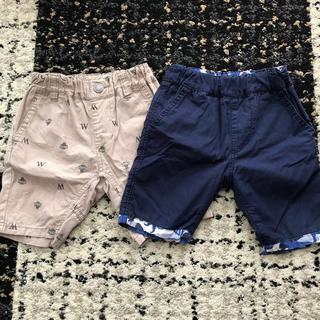 ワスク(WASK)のWASK 半ズボン2着セット 90サイズ(パンツ/スパッツ)