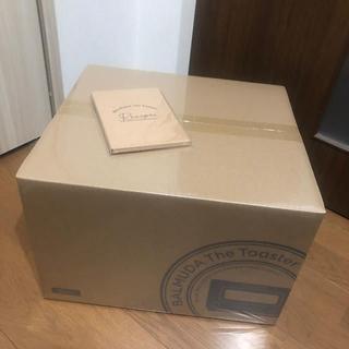 バルミューダ(BALMUDA)のBALMUDA The Toaster ブラック 新品未使用 おまけ付き(調理道具/製菓道具)