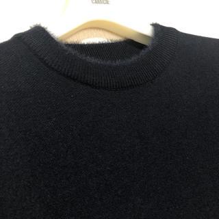 ザラ(ZARA)の美品 ZARA クルーネック 半袖ニット(ニット/セーター)